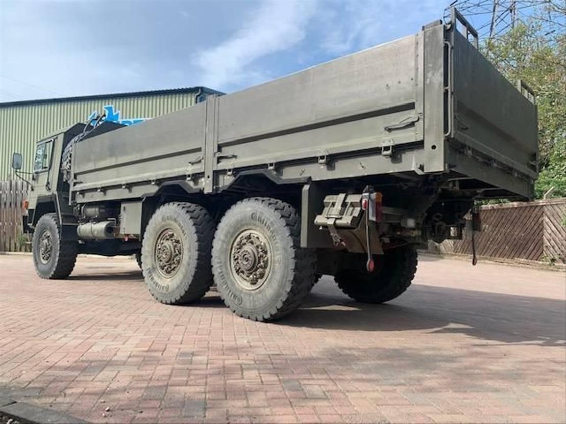 leger vrachtwagen Saurer 10DM 6x6 Truck Ex military 1985