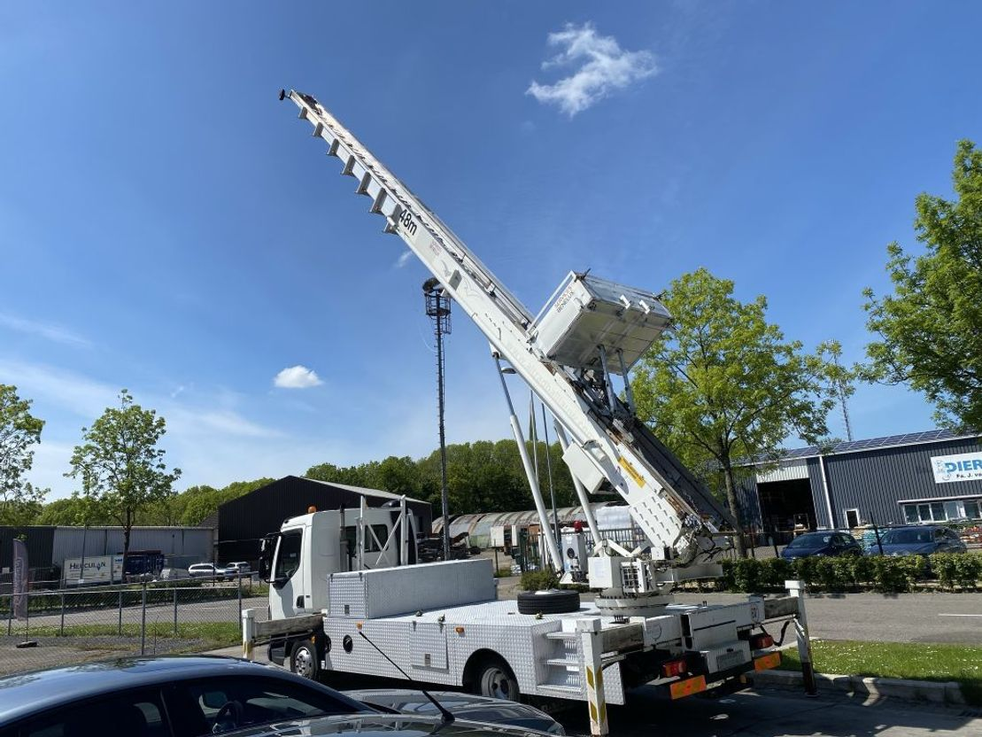 autohoogwerker vrachtwagen DAF LF 45 180 EEV + KLAAS 48 METER LIFT + REMOTE CONTROL 2010