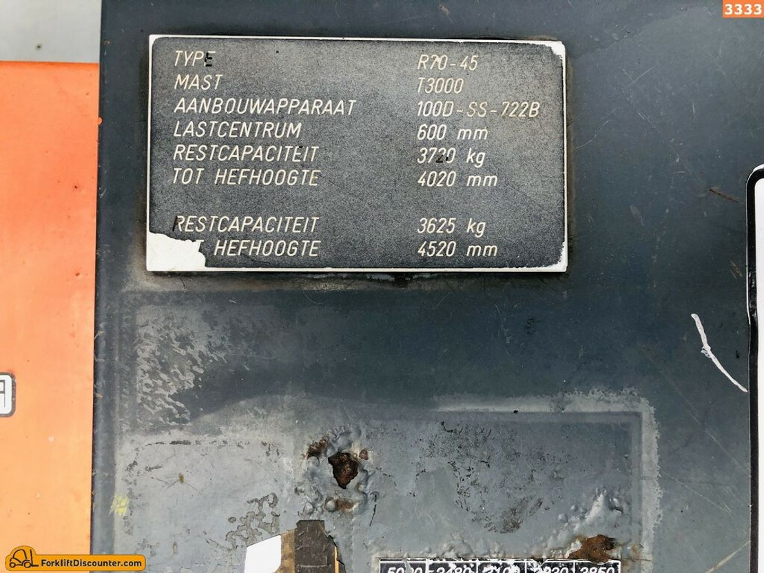 vorkheftruck Still R70-45 1994