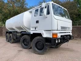 leger vrachtwagen DAF Leyland DAF 8x6 Scammell Tanker truck ex army 1994
