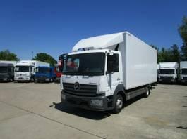 bakwagen vrachtwagen Mercedes-Benz Atego 1221 L Koffer 6 m LBW 1,5 to.*KLIMA 2016