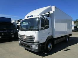 bakwagen vrachtwagen Mercedes-Benz Atego 1221 IV L Koffer 6 m LBW 1,5 to.*KLIMA 2016
