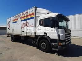 bakwagen vrachtwagen Scania P94DB 230CV 2002