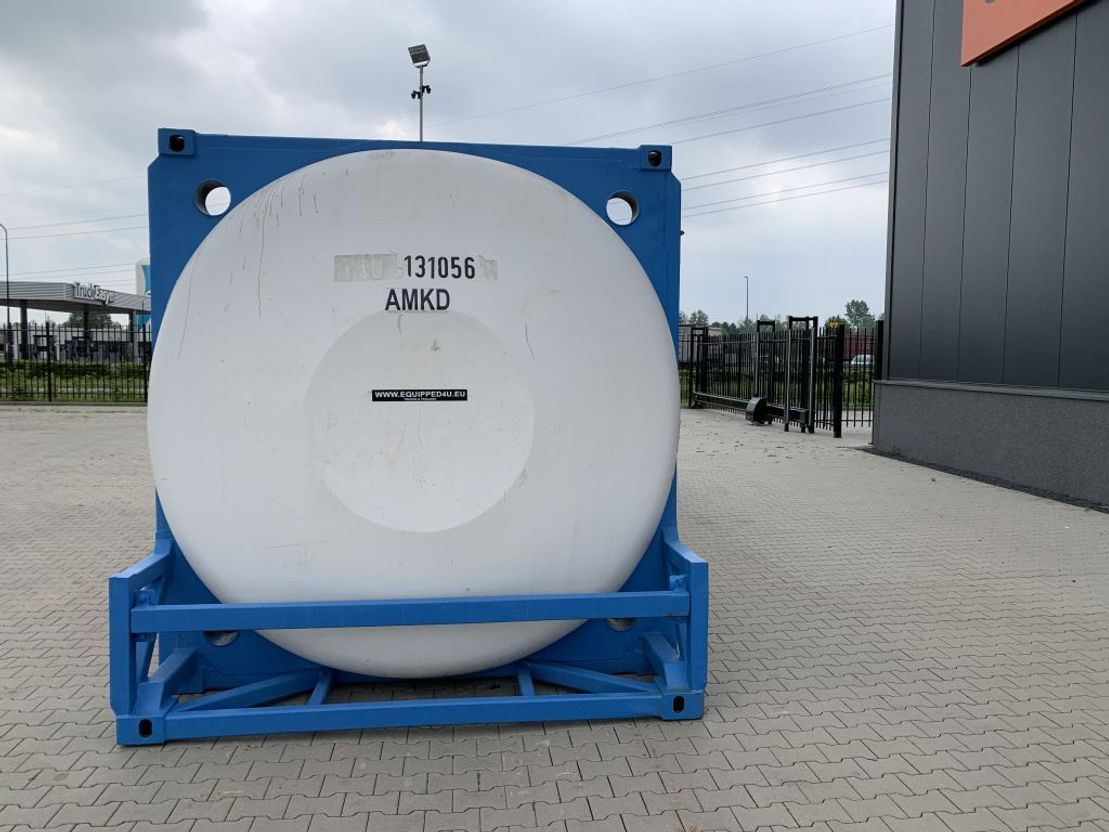 tankcontainer Van Hool 23FT TC swapbody 31.299L, UN PORTABLE, T7, valid 2.5Y inspection/CSC: 03-2022 1998