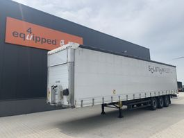 schuifzeil oplegger Schmitz Cargobull TOP, Hubdach, Code-XL, galvanisiert, Scheibebremsen, Rungtasschen, 2x vorhanden 2017