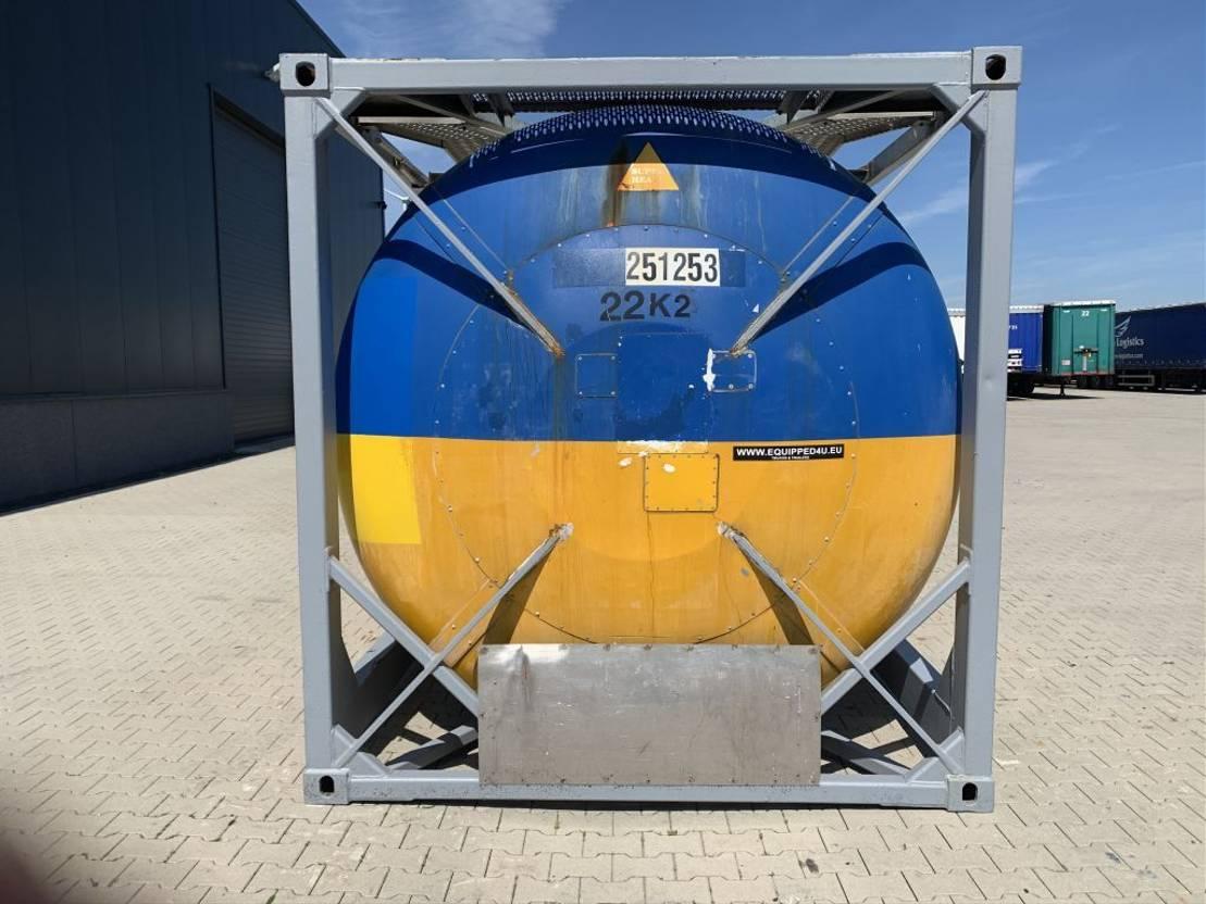 tankcontainer Diversen 24.778L TC, UN PORTABLE T11, L4BN, valid 5y/CSC: 08-2022 1997