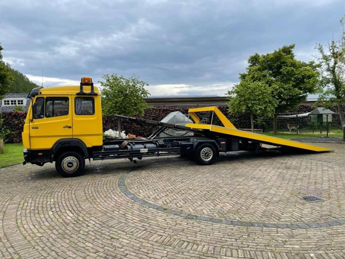 takelwagen-bergingswagen-vrachtwagen Mercedes-Benz 817 L  Ecoliner 817 L 1994