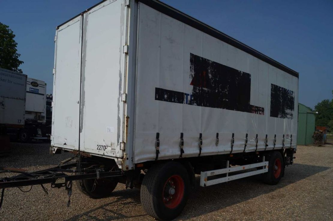 schuifzeil aanhanger Krone 2-assige aanhangwagen 2000