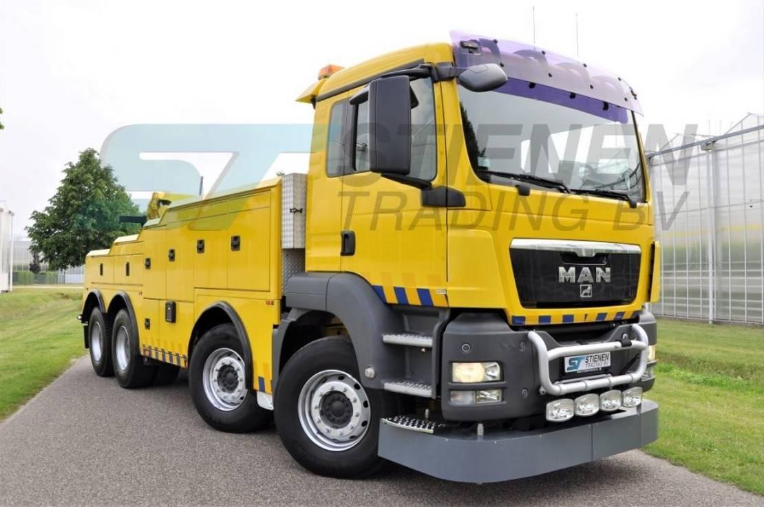 takelwagen-bergingswagen-vrachtwagen MAN TGS 41 8x4 BB CENTURY 9055T Wrecker 2008
