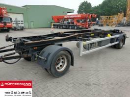 container chassis aanhanger Huffermann 2-achs Abrollanhänger / HSA 20.70 LT 2012