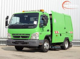 Veegmachine vrachtwagen Mitsubishi Canter Fuso 7 C15 Voire BMV BM20 Veegwagen, Road Sweeper, Kehrmachine. 2013