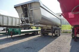 kipper oplegger Galtrailer B2 - HARDOXKUIP - 25 M3 - HYDRAULISCHE ACHTERKLEP - ZEER GOEDE TOESTAND