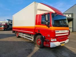 bakwagen vrachtwagen DAF CF 75 250 EURO 5  667000 KM 2010