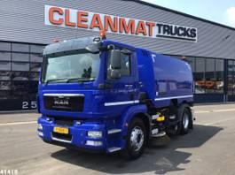 Veegmachine vrachtwagen MAN TGM 15 Faun VIAJET 6 R/L HS 2013