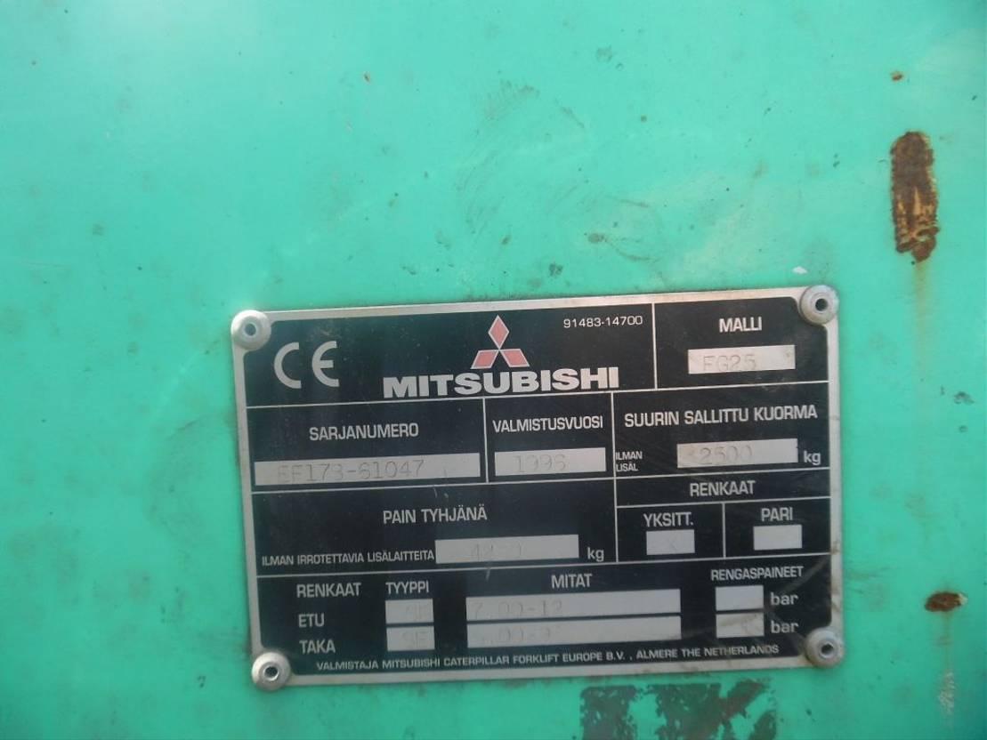 vorkheftruck Mitsubishi fg25 1996