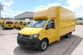 gesloten bestelwagen Volkswagen T 6 4,25t eDelBox REGALEINBAU WEBAST 2016