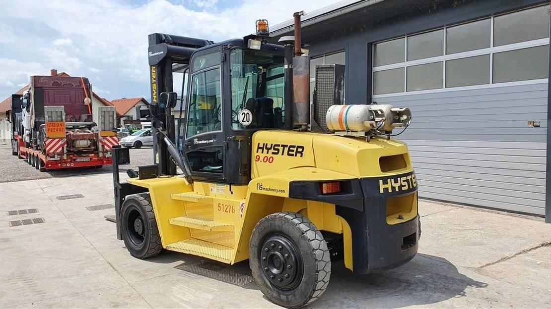 vorkheftruck Hyster H9.00XM - 9 TONNE - 5330 WORKING HOURS 2003