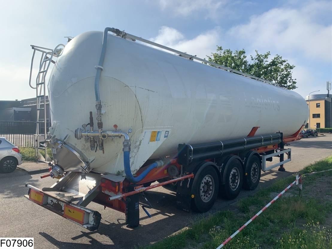 silo oplegger Feldbinder Silo Silo / Bulk, 63000 liter, 63 M3 2001
