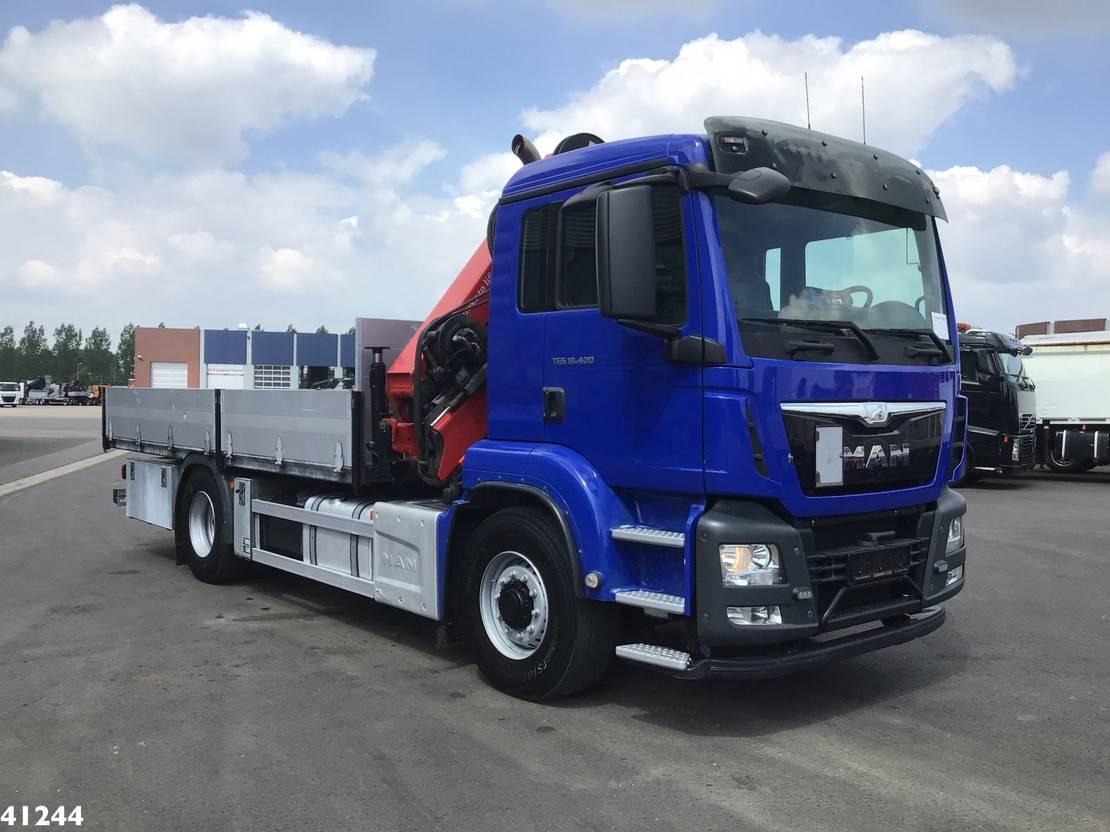 kraanwagen MAN TGS 18 18.400H 4x4 Euro 6 HMF 21 ton/meter laadkraan 2014