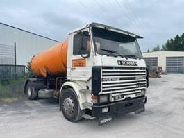 kolkenzuiger vrachtwagen Scania 93 - 250, 6 Zylinder, Vacuum Toilet Truck 1994