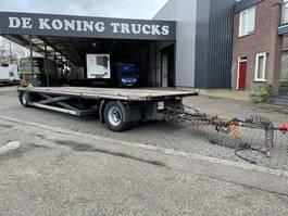 platte aanhanger vrachtwagen Zwalve Machine loader !!! 2009