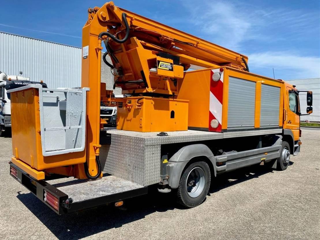 autohoogwerker vrachtwagen Mercedes-Benz Atego 1218 970 2005