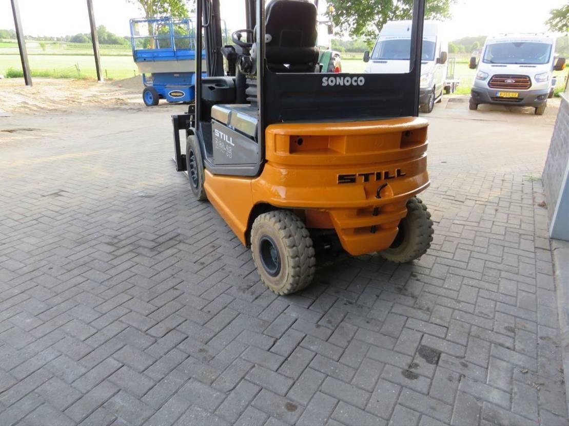 vorkheftruck Still R60 35 heftruck elektrische met lepelversteling