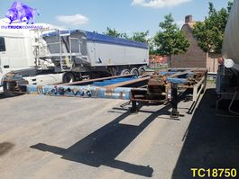 container chassis oplegger Krone SD-27-EL Container Transport 2002