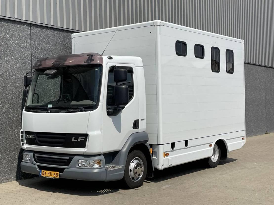 paardenvrachtwagen DAF LF45-160 / Paardenvervoer / Only 83.791 KM / Ex overheid / Euro5 EEV / LIKE NEW / NL Truck 2010