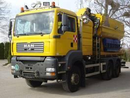 chassis cabine vrachtwagen MAN TGS 33 6x6 Wechselfahrg. *Kran *Salzstreuer 2005