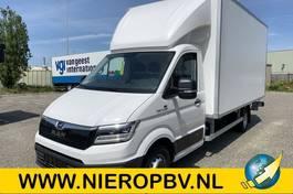 gesloten bestelwagen MAN TGE 5.180 bakwagen laadklep zijdeur airco navi automaat NIEUW 2021