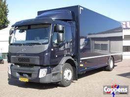 bakwagen vrachtwagen Volvo 250 4x2 Gesloten bak met laadklep Euro 6 2016
