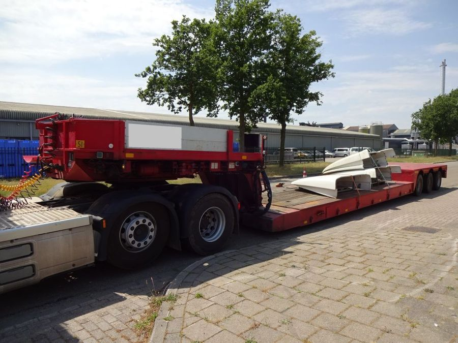 Nooteboom - Lowbed - Removable Neck - Extendable - 3x Steering Axles 1