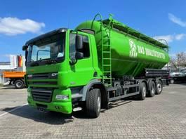 tankwagen vrachtwagen DAF CF 85 8x2 Silo Heitling 37.000 Liter 2013