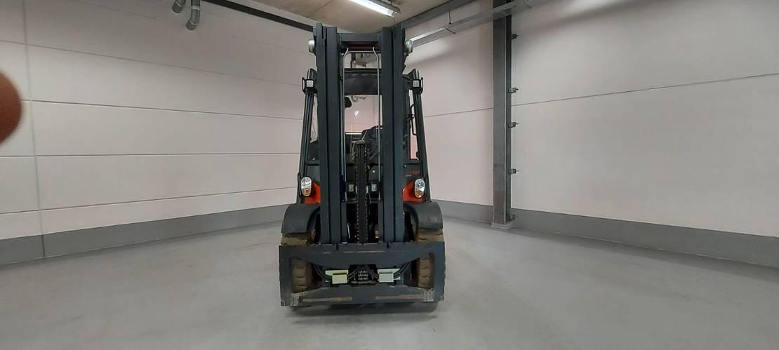 vorkheftruck Linde h50t-02 evo 4 whl counterbalanced forklift <10t 2017