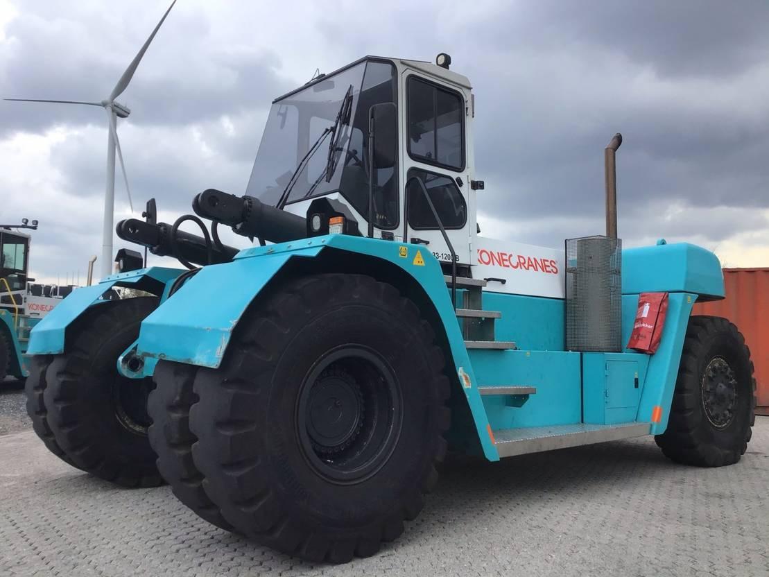 vorkheftruck SMV 33-1200b 4 whl counterbalanced forklift >10t 2013