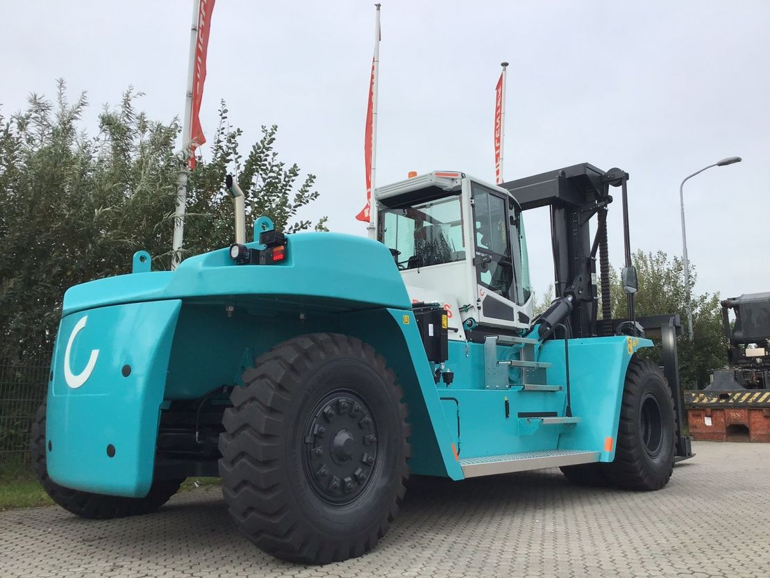 vorkheftruck SMV 33-1200c 4 whl counterbalanced forklift >10t 2019