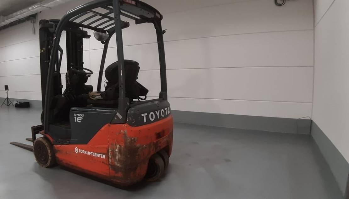 vorkheftruck Toyota 8fbek16t 4 whl counterbalanced forklift <10t 2016