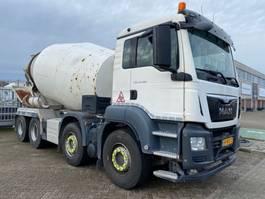 betonmixer vrachtwagen MAN 37.360 8x4 10m3 mixer EURO6 2014