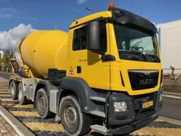 betonmixer vrachtwagen MAN 37.360 8x4 EURO6 10m3 mixer EURO6 2016
