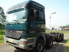 chassis cabine vrachtwagen Mercedes-Benz 4148/8X4/EPS/STEEL-STEEL/V8 ACTROS 4148 2000