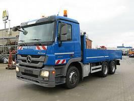 platform vrachtwagen Mercedes-Benz Actros 2655 L; V8 engine, Blatt/Luftfed. 2010