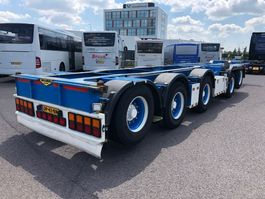 container chassis oplegger Broshuis 2CONNECT-5AKCC 2016