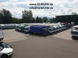 bakwagen vrachtwagen MAN TGL 8 BL DOKA 6-SITZER Koffer 7,2 m LBW 1 T 2016