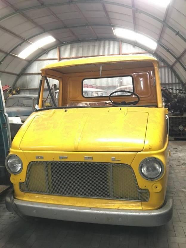 takelwagen-bergingswagen-vrachtwagen Opel Blitz 1961