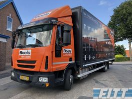 overige vrachtwagens Iveco Eurocargo ML80EL 16/P - 7490KG - gesloten bak met klep NL 2015