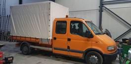 kipper bedrijfswagen Renault master kipper/tipper 2002