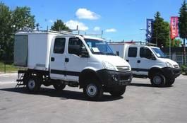 bakwagen bedrijfswagen Iveco 4x4 55S18DW DOKA OFF ROAD CAMPER 2009