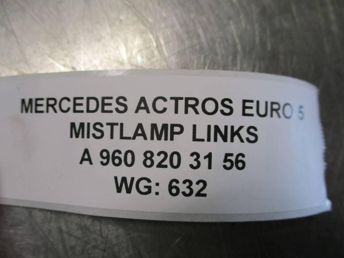 Mistlamp vrachtwagen onderdeel Mercedes-Benz A 960 820 31 56 MISTLAMP LINKS EURO 5