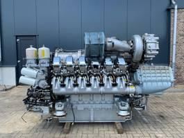 industriële motor MTU 12V 4000 Marine 1320 kW 1798 PK Diesel Engine as New ! 2004